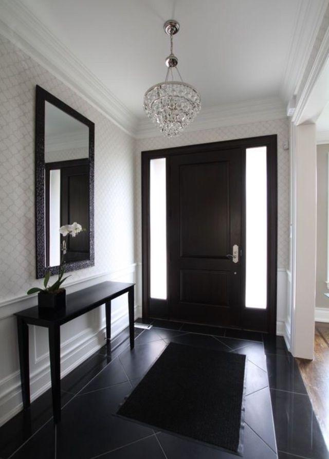25 best ideas about paint doors black on pinterest for Inside outside doors