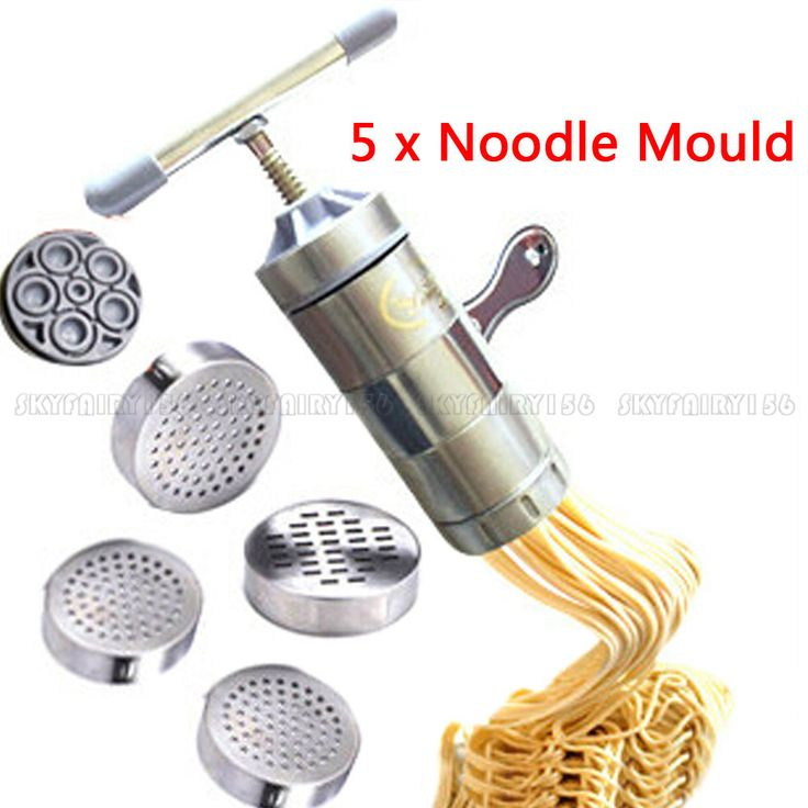 Stainless Steel Pasta Noodle Maker Fruit Juicer Press Spaghetti Kitchen Machine #Unbranded