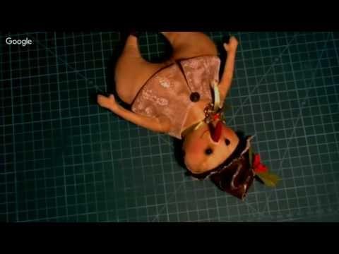 Куклы и игрушки: творим вместе. День 5. Елена Диденко - YouTube