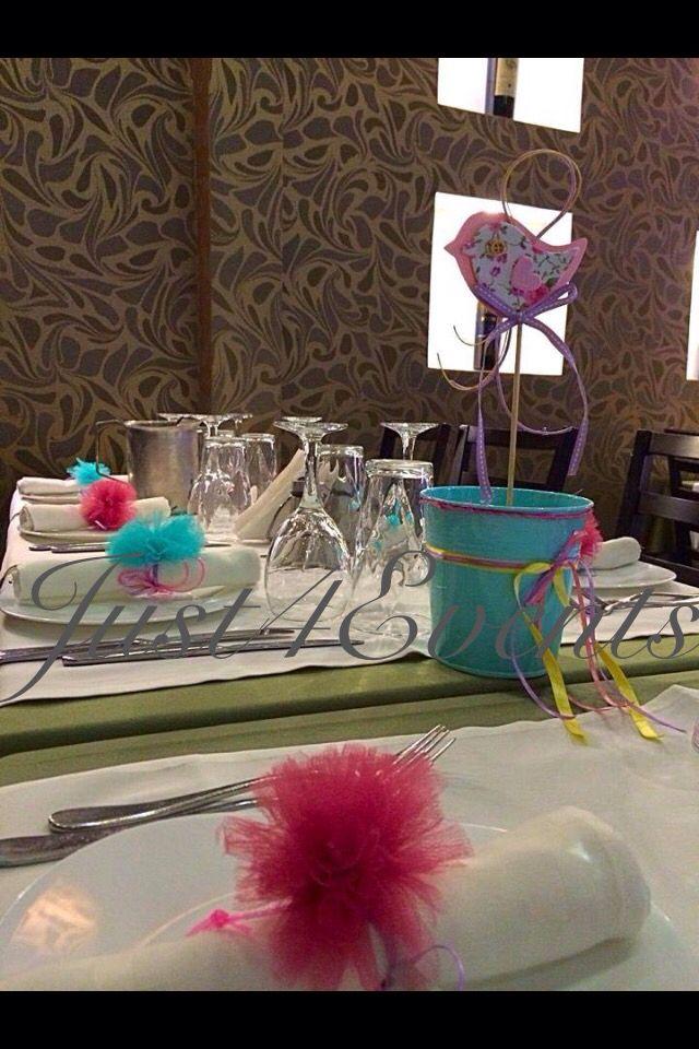 Centerpiece & restaurant table decoration..!!!!