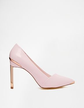 Ted Baker Naretta Light Pink Patent Heeled Shoes