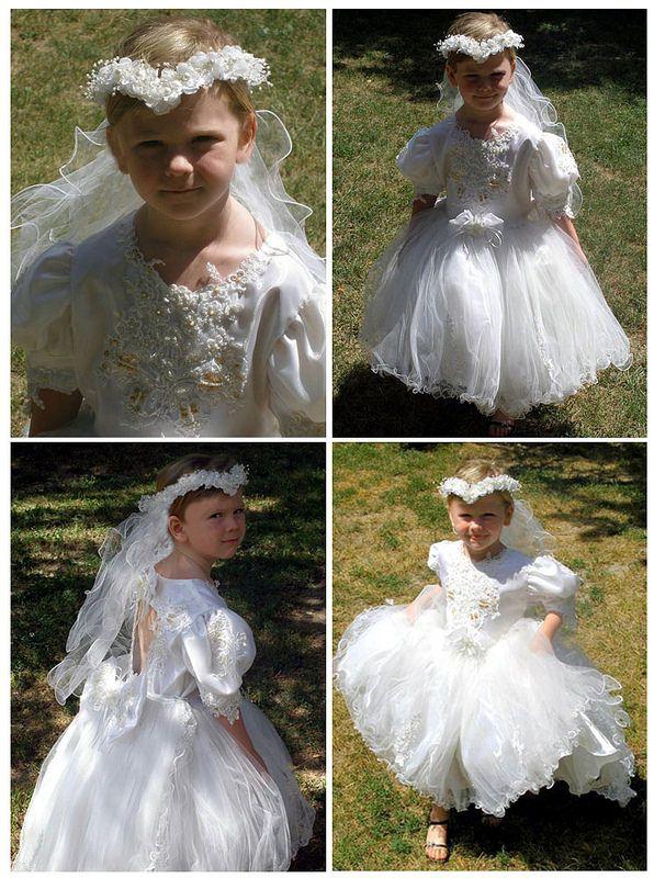 transvestite communion dress young Free wearing