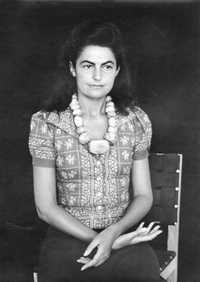Alice Rahon - Foto Manuel Álvarez Bravo ca. 1940
