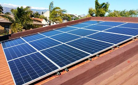 What are Photovoltaics & what is the cost of the systems?  Photovoltaics are the term used to describe the process of converting solar energy into direct current electricity through the use of semi-conducting materials exhibiting the photovoltaic effect.