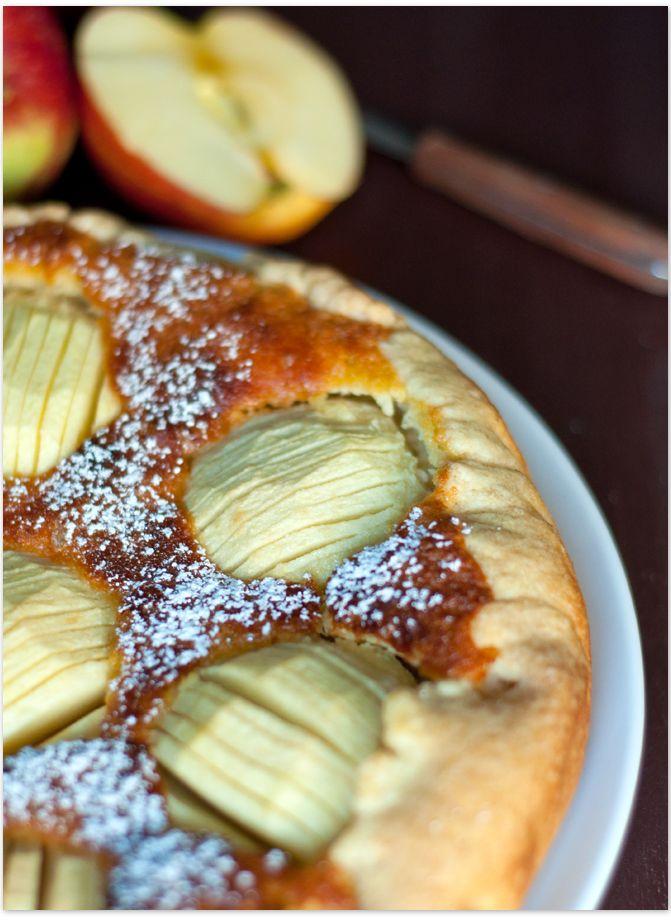 Apfelkuchen mit Marzipan   Serendipity Blog