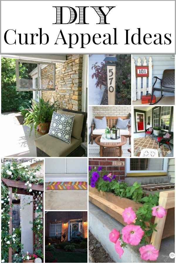 DIY Curb Appeal Ideas to update the