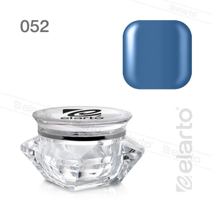 Żel kolorowy nr 052 - niebieski 5g #elarto #żel #kolorowy #niebieski