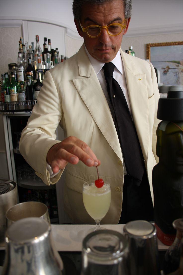 Bar Westin Excelsior. Master Barman Tony Micelotta. Pisco Sour