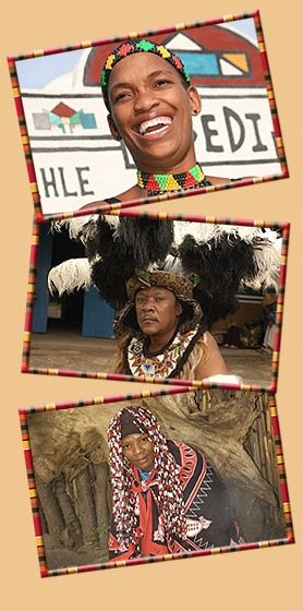 Lesedi Cultural Village in the Cradle of Humankind