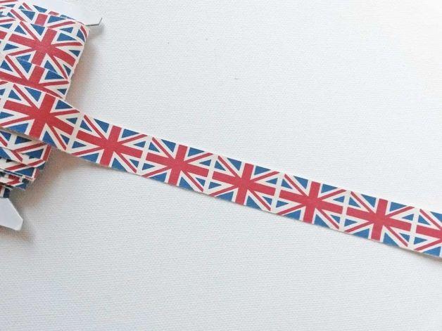 """Webband Britische Flagge """"Union Jack"""""""