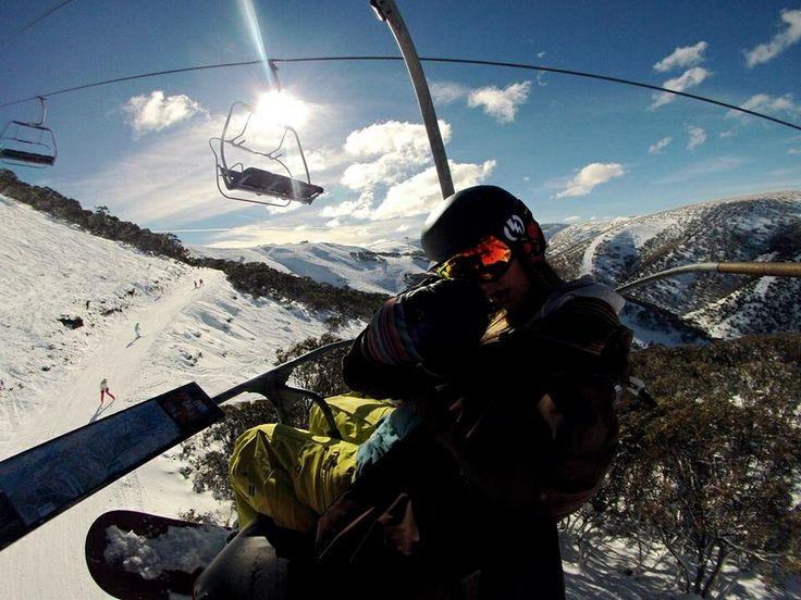 Snowboarding at Mt Hotham 2013