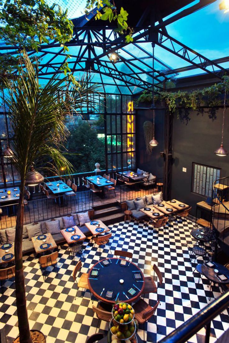 romita comedor restaurant mexico city - Blue Restaurant Ideas