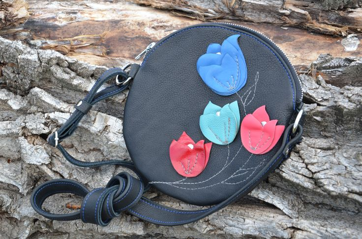 1 of 4 - friendship collection - custom design leather side bags