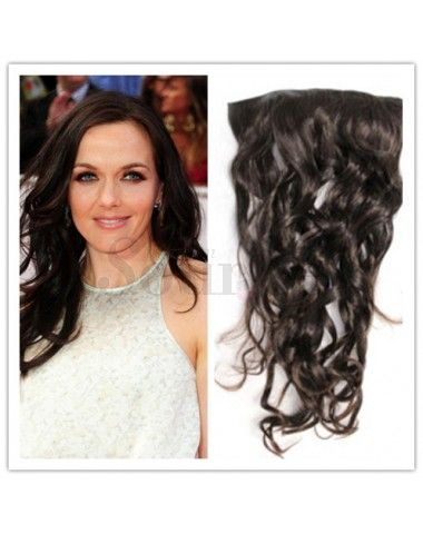 1. 100% Indian Remy Human Hair  2. Last longer time without tangling  3. Stay healthy and strong even after washing  4. Able to color, curl and straighten  5. Able to use normal hair products to deal with  6. High quality metal clip with rubble silicone back, attached on hair  7. High quality, tangle free,silky soft  8. Adds instant length and volume9. Look more natural and blends better in with your real hair  http://www.hairbays.com/fashion-black-curly-clip-hair-extension.html