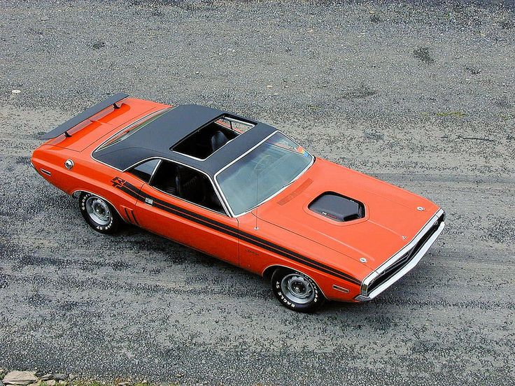 1971 Dodge Challenger R T With Factory Sun Roof And Shaker