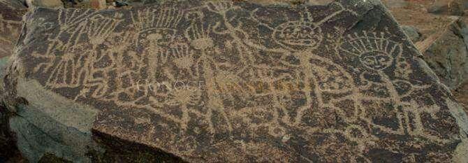 Resultado de imagen para Petroglifos Cultura El Molle