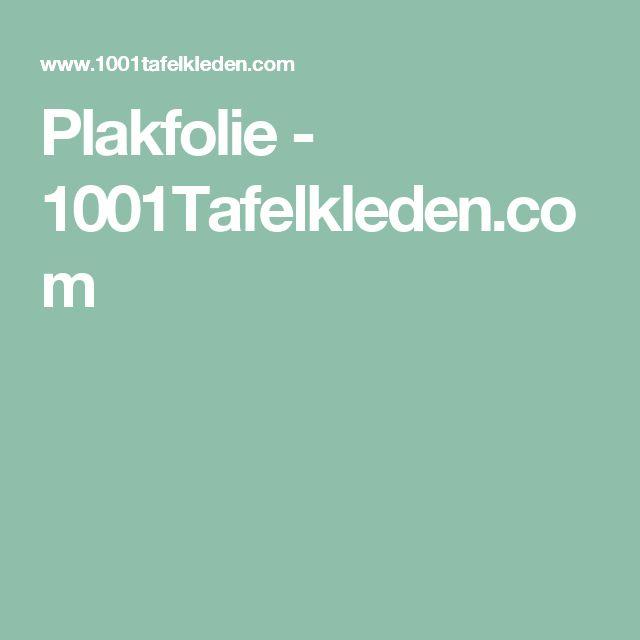 Plakfolie - 1001Tafelkleden.com