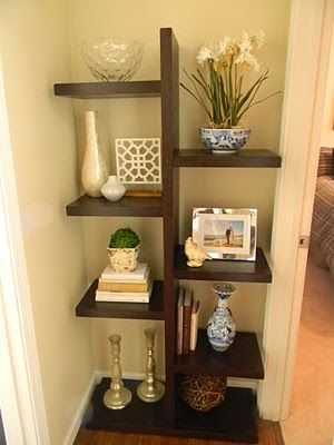 Lounge Shelves for alcove