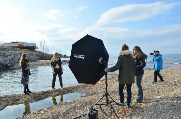 pics of the photo shoot for the HEEL Athens Lab winter collection catalog 2014–2015 with Chris Doulgeris.