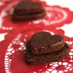 Heart Shaped #Brownies
