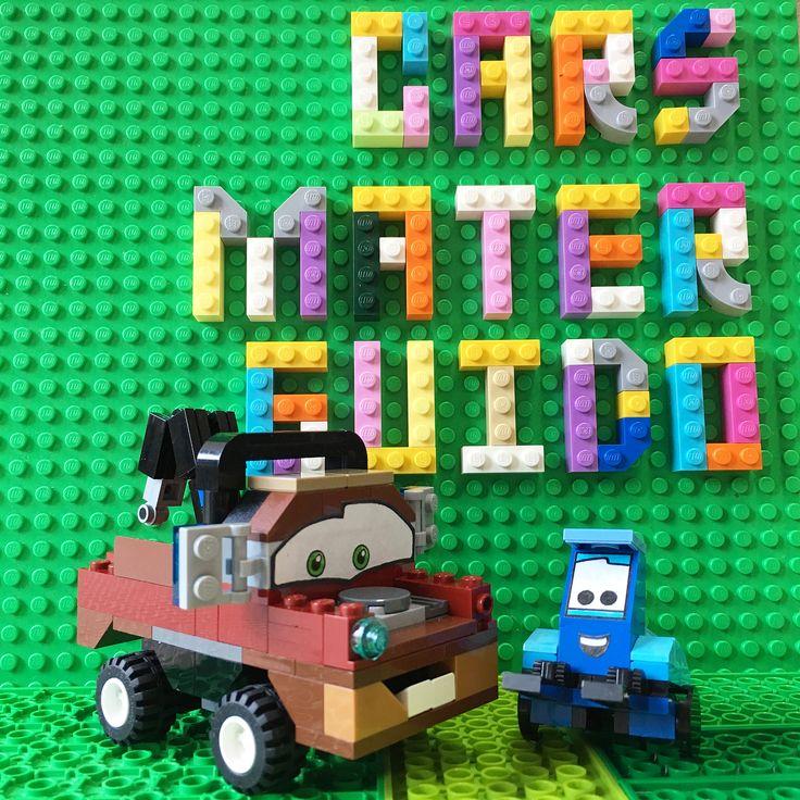 ディズニー/ピクサー製作の カーズCARSに登場する レッカー車のメーターMATERと フォークリフトのグイドGUIDOを LEGOにchange 先日@harumamu22.5さんから コメント頂きました働く車の リクエストでの作成です トミカじゃなくてスミマセン メーターは傷とさびだらけ片側ライトと ポンコツの雰囲気を色違いのレゴで表現 後輪が上下可動するからコミカルな 動きも出来ちゃう笑 グイドもフォークが上下に可動するから 得意技の看板回しも出来ちゃうかもね笑 #Cars #カーズ #メーター #MATER #グイド #GUIDO #レゴ #lego #legos #legostagram #minifigures #legominifigures #minifigs #legophotography #toyphotography #toy #legofan #legomania  #legogram #legolov3rs