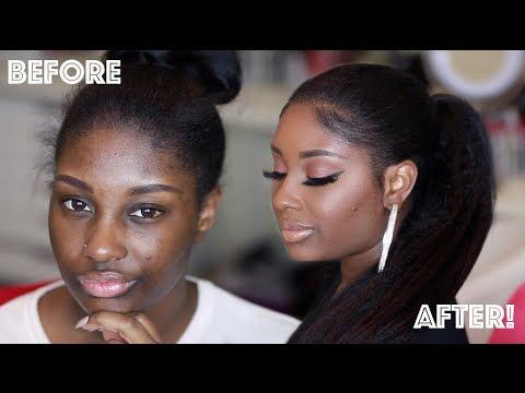 Get Ready with Me | Fresh Beat + Sleek Ponytail using Knappy Hair Extensions | Makeupd0ll - YouTube