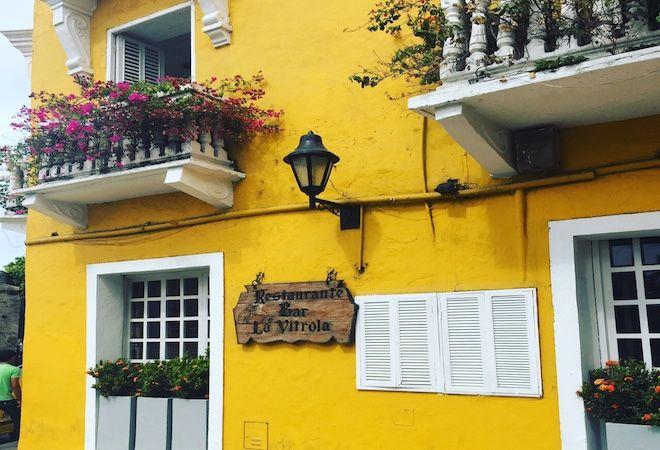 La Vitrola en Cartagena Colombia