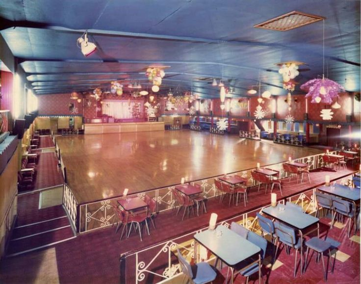 The Navada roller skating rink in Bolton where I had many happy times!