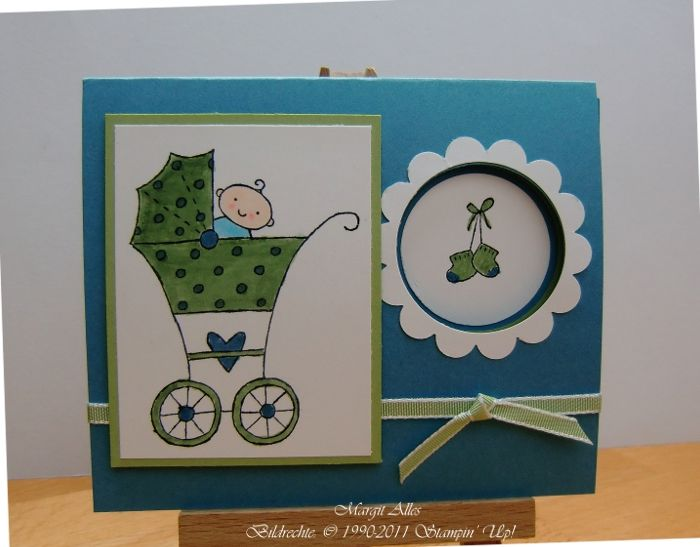 Love the window!Cards Ideasbaby, Cards Ideas Baby, Baby Cards, Cards Idease Baby, Artsy Cards