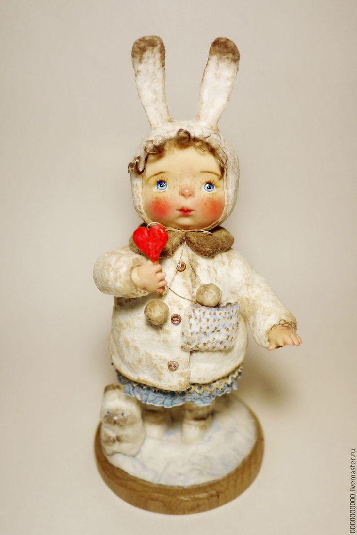 Купить авторская кукла Машенька - рождественский декор, новогодний декор, новогоднее украшение
