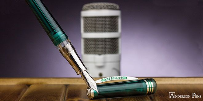 Anderson Pens Podcast Episode 260! Wednesday, January 24 at 10:30am Central! Join Brian and Lisa as they talk Visconti Pen Cases, new Retro 51 Speakeasy rollerballs, Leuchtturm1917 Bullet Journal in Nordic Blue, Platinum 3776 Nice Lilas and Much More! blog.andersonpens.com -- #fpn #fpgeeks #penaddict #fountainpenday #fountainpen #fountainpens #handwriting #andersonpens #visconti #visconticase #retro51 #leuchtturm #leuchtturm1917 #bulletjournal