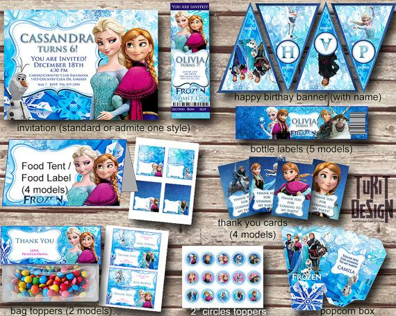 169 best Charlies Frozen Party Ideas images on Pinterest