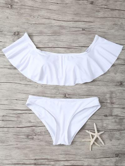 SHARE & Get it FREE | Ruffles Off Shoulder BikiniFor Fashion Lovers only:80,000+ Items • New Arrivals Daily Join Zaful: Get YOUR $50 NOW!