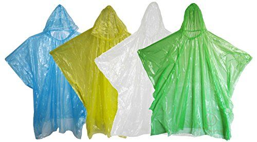 Disposable Rain Ponchos with Hood MCR Medical -- You can get additional details at the image link.