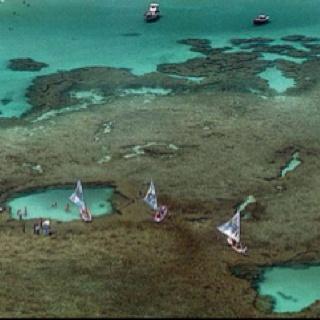 Natural pools. Porto de Galinhas Beach - Recife Brazil. Tropical!