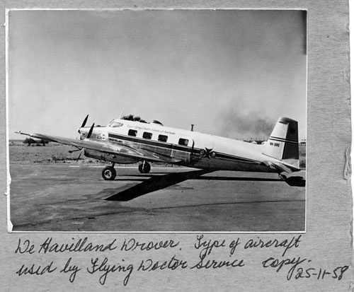 Founded 1928-Royal Flying Doctor Service Australia 1958