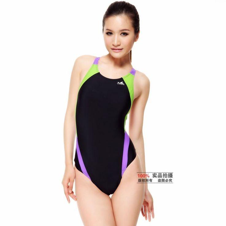 Ying Fa Bodybuilding Women's Sports Racing Swimsuit Professional Swimwear Leotard Plus Size XXXL One Piece Competition Swimsuit