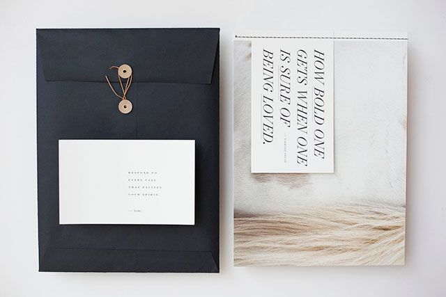 photography promo book- love the postcard idea- the threaded binding- just perfect!