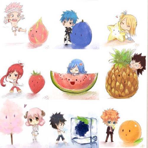 Most popular tags for this image include: fairy tail, natsu, erza, anime and Lucy