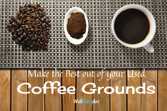 Throwing the old coffee grounds? Time to ponder about it!