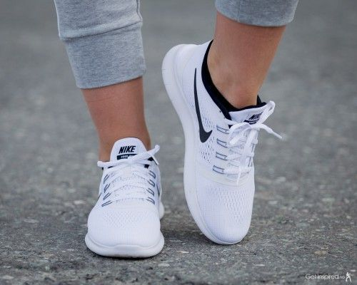 Nike Free RN - Hvit | GetInspired.no                                                                                                                                                                                 More
