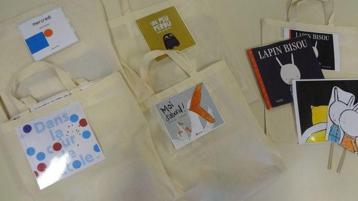 Les sacs à album chez Mimi