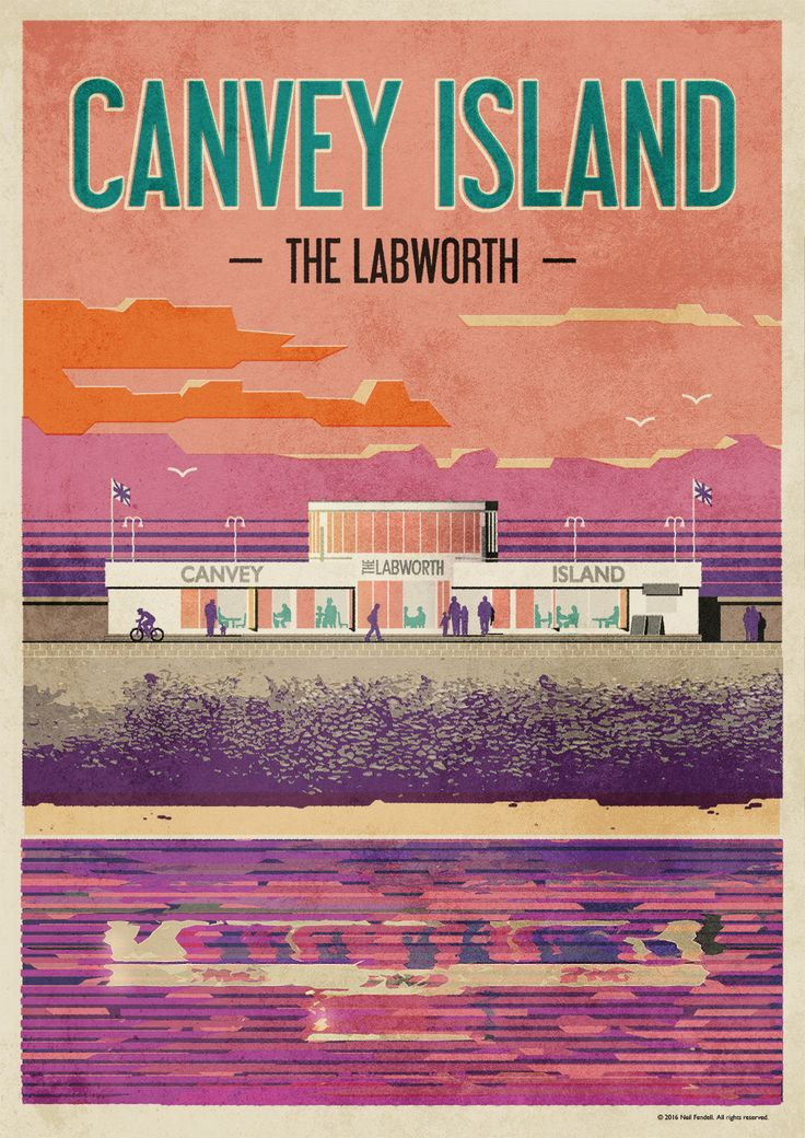 Canvey Island - The Labworth Poster on Behance