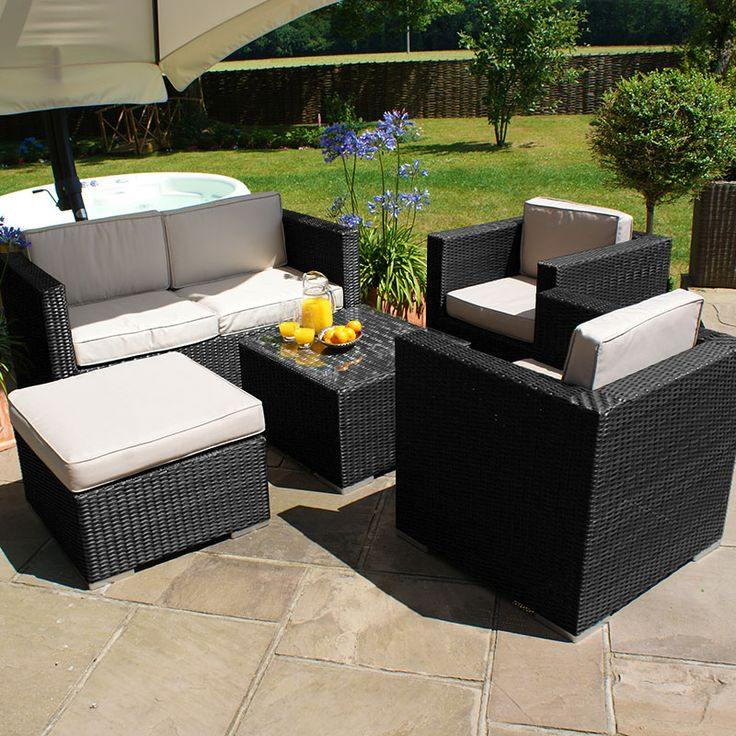 Maze Fabric Kingston Brown 2 Seater Sofa Set is designed especially for  being used outdoors  weatherproof this set will serve you well throughout  the years. 42 best Rattan Garden Furniture images on Pinterest   Rattan