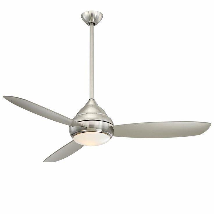 Minka Aire 58 Concept I Wet 3 Blade Outdoor Led Propeller Ceiling Fan With Wall Control And Light Kit Included Ceiling Fan Ceiling Fan With Light Led Ceiling Fan