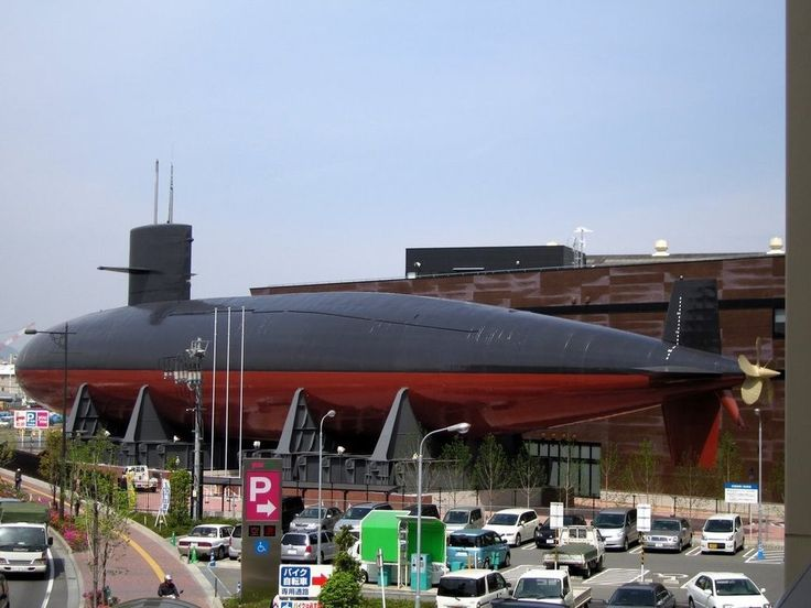 The Japanese Maritime Self-Defense Force Submarine Museum | Atlas Obscura