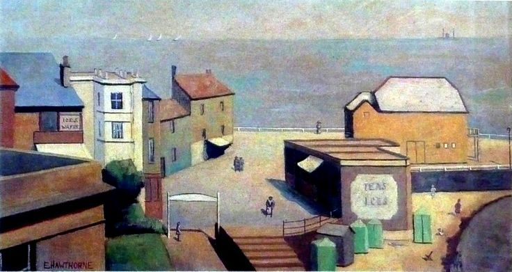 Broadstairs by Elwin Hawthorne 1931 #ELG