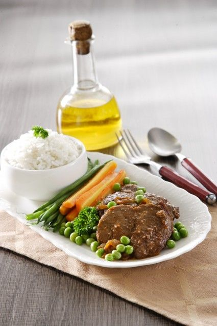 Menikmati bistik daging sebagai hidangan buka puasa kali ini tentu menjadi sajian yang dapat ditolak.