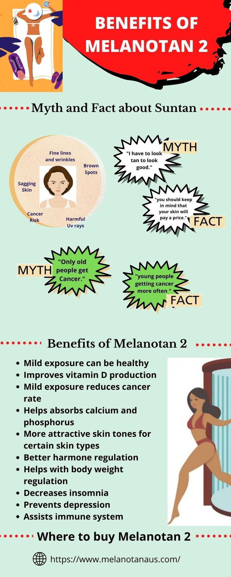 Benefits of Melanotan 2