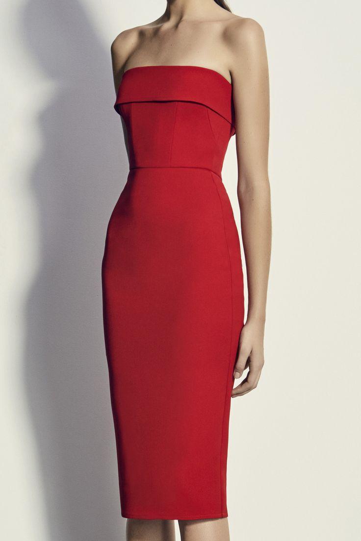 Alex Perry - Elsie Dress - Red